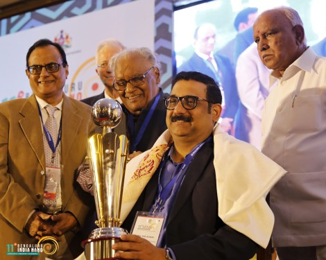Prof. P S Anil Kumar Receipent of Prof. CNR Rao Bengaluru India Nano Science Award 2020