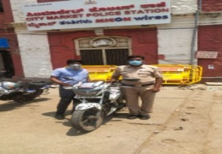 Solar TVS in Bangalore offering free police vehicle service