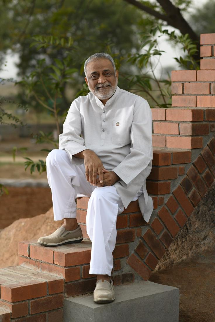 Daaji (Kamlesh D Patel), Global Guide of Heartfulness