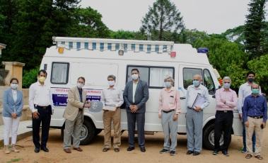 Toyota Kirloskar Motor provides Mobile Medical Unit to IISc to scale up COVID-19 testing in Karnataka
